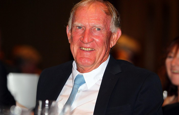Tony Roche at the Davis Cup official team dinner in Melbourne; SMP Images