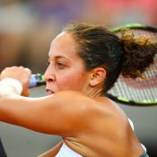 Madison Keys was too powerful on the day. Photo: Getty Images