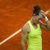 Defeat meant that Australia had lost their Fed Cup World Group Play-off tie. Photo: Getty Images