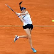 Christina McHale fought back from a set down. Photo: Getty Images