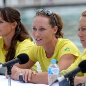 Sam Stosur will lead the Aussies into battle once again. Photo: Getty Images