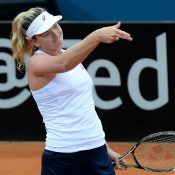 Vandeweghe misfired in the opening set but soon found her range. Photo: Getty Images