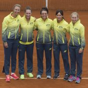 The Australian Fed Cup team. © AMN IMAGES