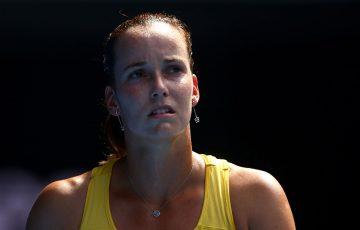 Jarmila Gajdosova in action at Australian Open 2016; Getty Images