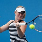 Storm Sanders in action at Australian Open 2016; Getty Images