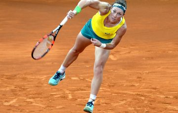 Sam Stosur was beaten by Christina McHale in three tight sets. Photo: Getty Images