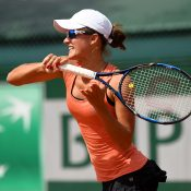 Arina Rodionova in action at Roland Garros; Getty Images