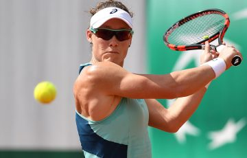 Sam Stosur in action at Roland Garros; Getty Images