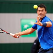 Bernard Tomic in action at Roland Garros 2016; Getty Images