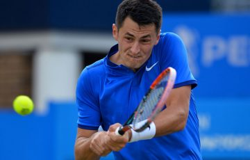 Bernard Tomic moves into the semifinals at Queen's