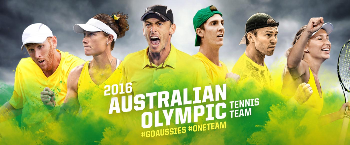 The Australian Olympic team