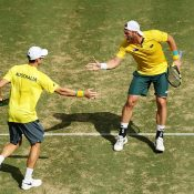 Groth and Peers were on top for most of the match. Photo: Getty Images