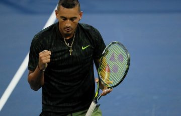 Nick Kyrgios hasn't dropped a set en route to the third round of US Open 2016; Getty Images