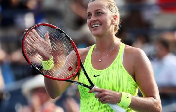 Two-time Wimbledon champion Petra Kvitova will make her third trip to Perth for the Hopman Cup; Getty Images