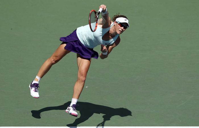 Sam Stosur in action at the US Open; Getty Images