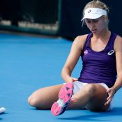 Daria Gavrilova in action at the 2016 China Open; Getty Images