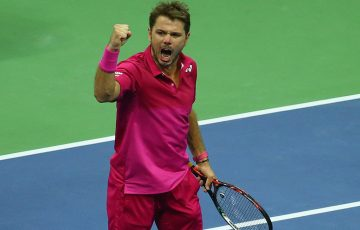 Stan Wawrinka en route to his title at the US Open in New York; Getty Images