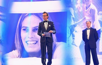 President's Spirit of Tennis Award - Angie Cunningham; Getty Images
