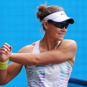 Sam Stosur trains ahead of the Australian Open; Getty Images