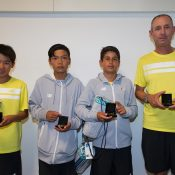 Western Australia's boys' team finished runner-up to Japan in the Rod Laver Cup 12/u teams event; Elizabeth Xue Bai