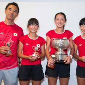 Japan won the Margaret Court Cup 12/u girls; teams event; Elizabeth Xue Bai