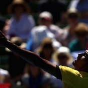 Nick Kyrgios was in imperious form against Jan Satral. Photo: Getty Images