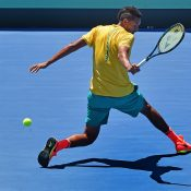 Kyrgios dominated from all areas of the court. Photo: Getty Images