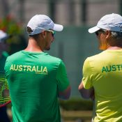Lleyton Hewitt is looking for Australian success in Davis Cup this year. Photo: Elizabeth Xue Bai