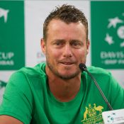 Lleyton Hewitt is looking for Australian success in Davis Cup this year. Photo: Elizabeth Xue BaiPhoto: Elizabeth Xue Bai