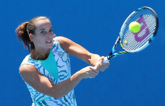 Jarmila Wolfe has retired from professional tennis.