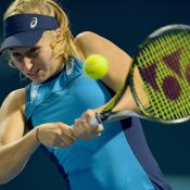 Daria Gavrilova started well at the 2017 Apia International Sydney