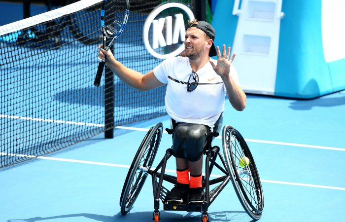 Dylan Alcott has reached the Australian Open final undefeated in the Round-Robin group.