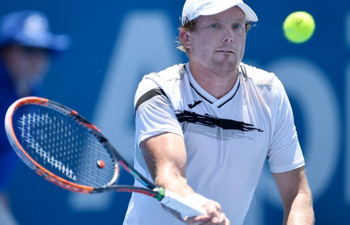 Matthew Barton has qualified for the main draw in Sydney