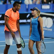 Nick Kyrgios and Daria Gavrilova suffered a surprise defeat to the Czech Republic. Photo: Getty Images
