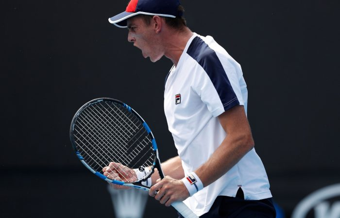 Andrew Whittington won his first ever Grand Slam match at his home major.
