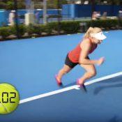 Dash does the dash; WTA