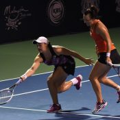 Barty and Dellacqua made it a clean sweep for the Aussies in Kuala Lumpur. Photo: Getty Images