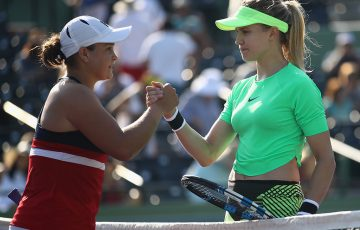 Ash Barty's comeback continued with a win over Genie Bouchard. Photo: Getty Images