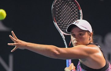 Ash Barty in action at Kuala Lumpur; Getty Images