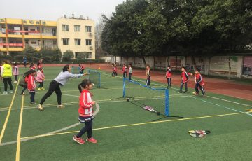 'Tennis for Schools' program heads to Chengdu