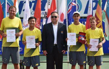 Australia's ITF World Junior Tennis team