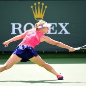 Daria Gavrilova in action at the BNP Paribas Open; Getty Images