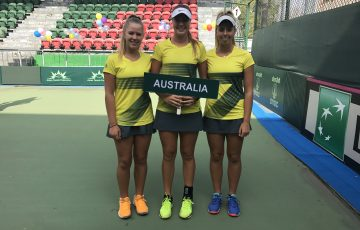 Australia's Junior Fed Cup team