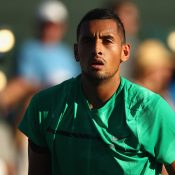 Nick Kyrgios at the 2017 BNP Paribas Open; Getty Images