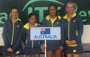 World Junior Tennis girls