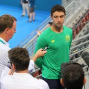 FOCUSED: Australia's Jordan Thompson speaks to the media ahead of his second Davis Cup tie; SMP Images