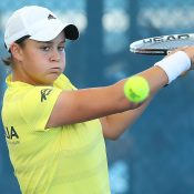 Ash Barty will represent Australia in both singles and doubles in the April 22-23 tie in Serbia; Getty Images