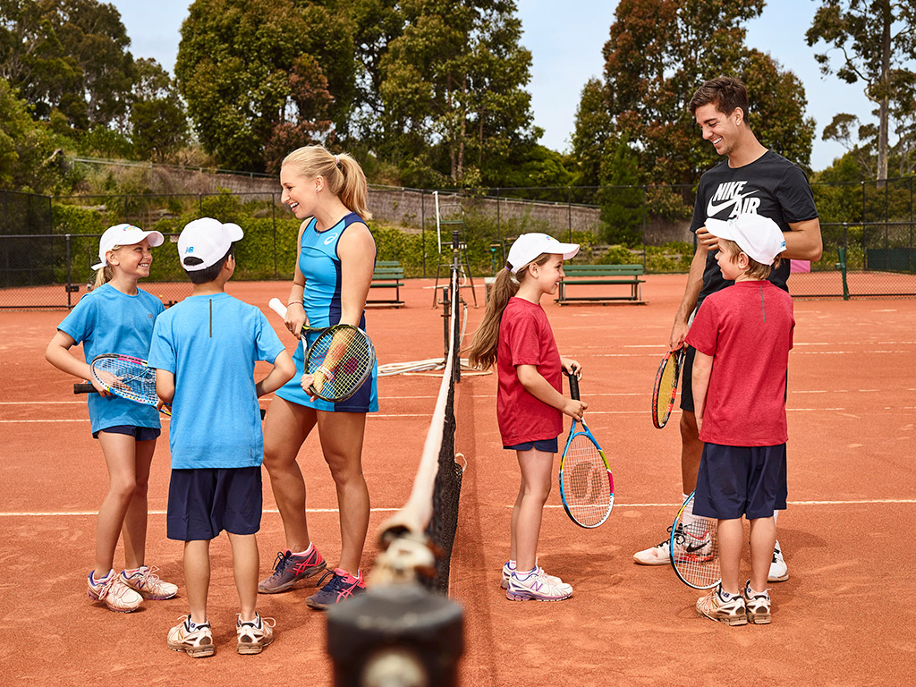 AMBASSADORS: Daria Gavrilova and Thanasi Kokkinakis are excited to support the ANZ Tennis Hot Shots Match Play program.