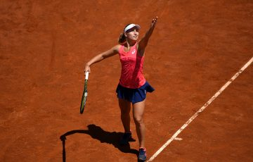Daria Gavrilova is through to the third round of the Italian Open. Photo: Getty Images