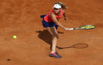 Daria Gavrilova's run at the Italian Open was ended by Kiki Bertens. Photo: Getty Images